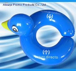 inflatable duck swim ring